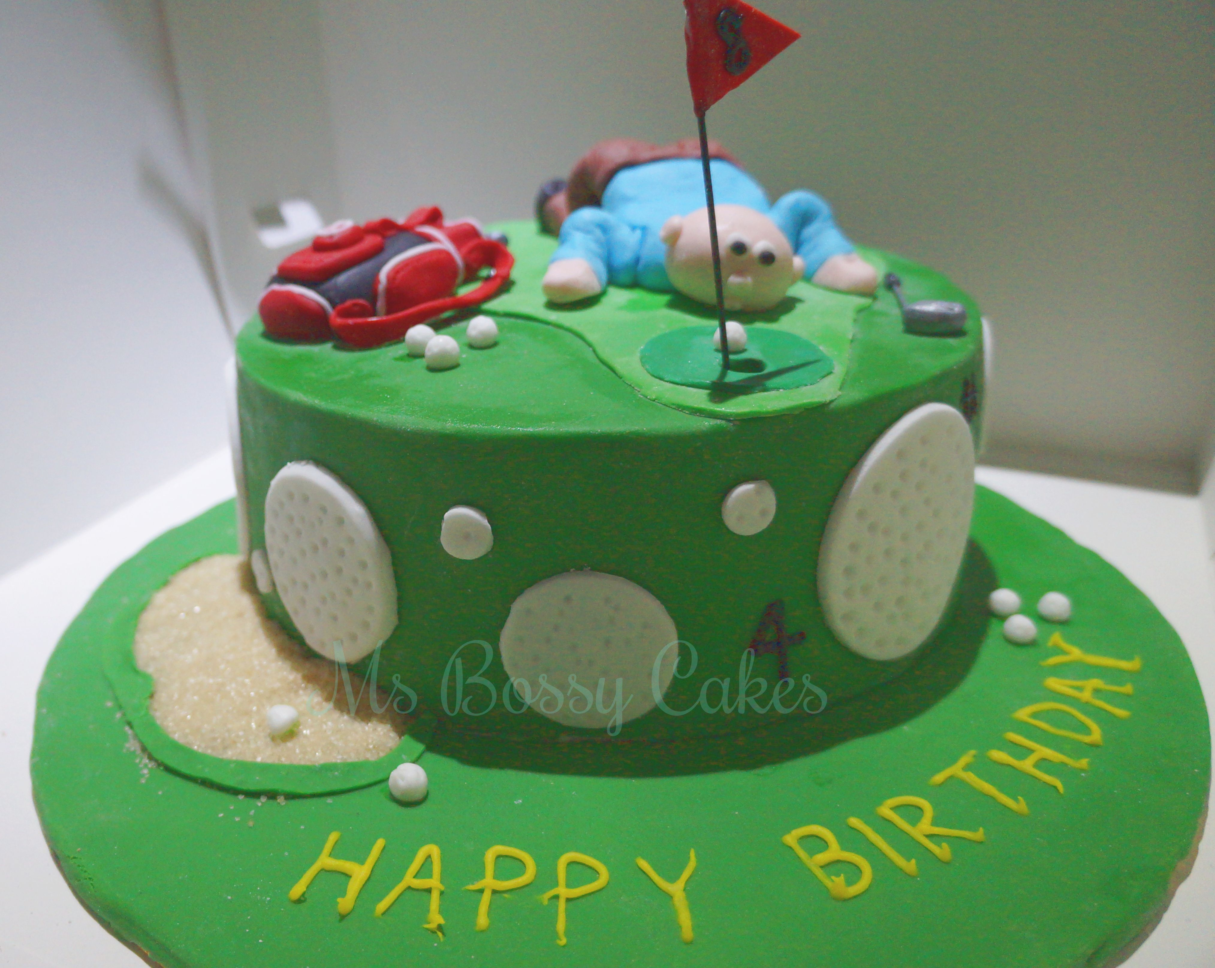 Golf Cake Ms Bossy Cakes Cakes