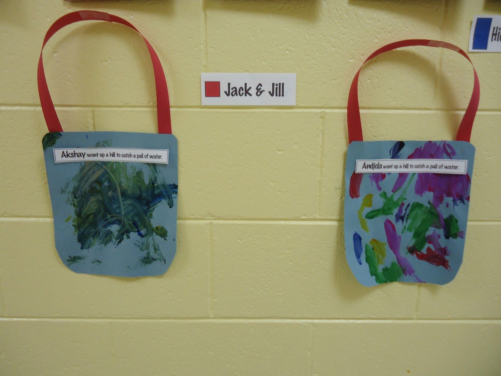 Jack And Jill Use The Student S Name Trinity Preschool Mp Learning Colors And Shapes Through