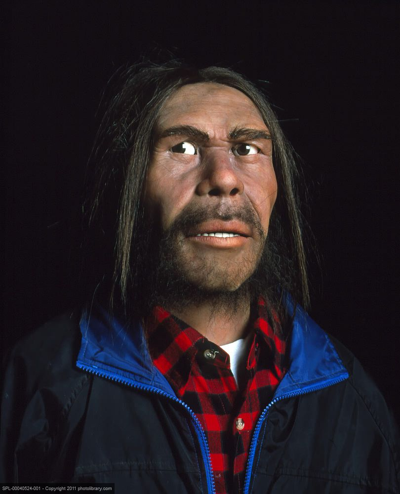 Is This Blackoot Indian An Anatomically Modern Human