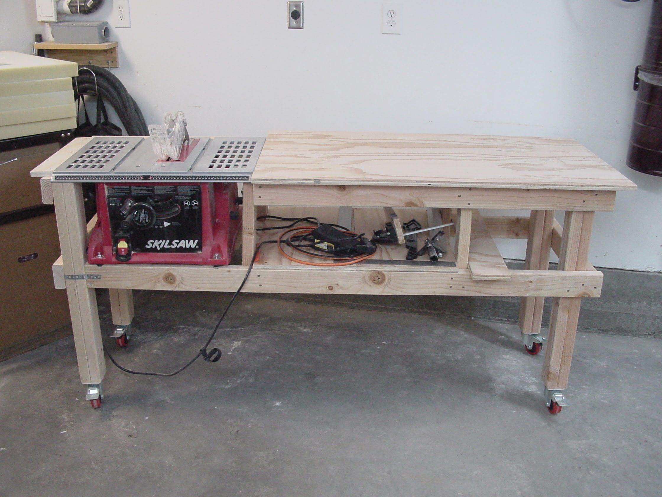 Saw and Router Table Extension Project The Woodworker's
