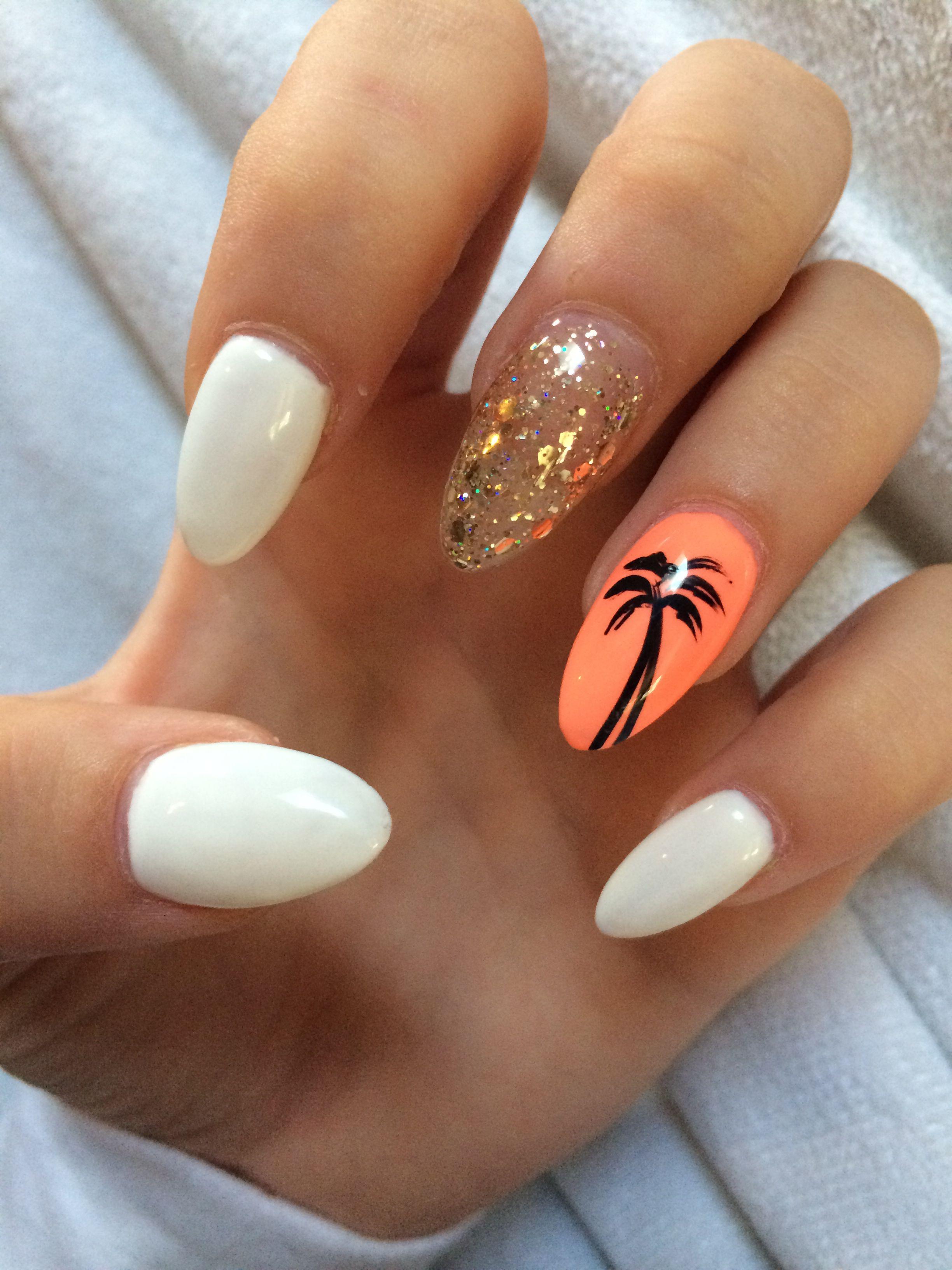 Vacation nails loveeee Pinterest Vacation nails
