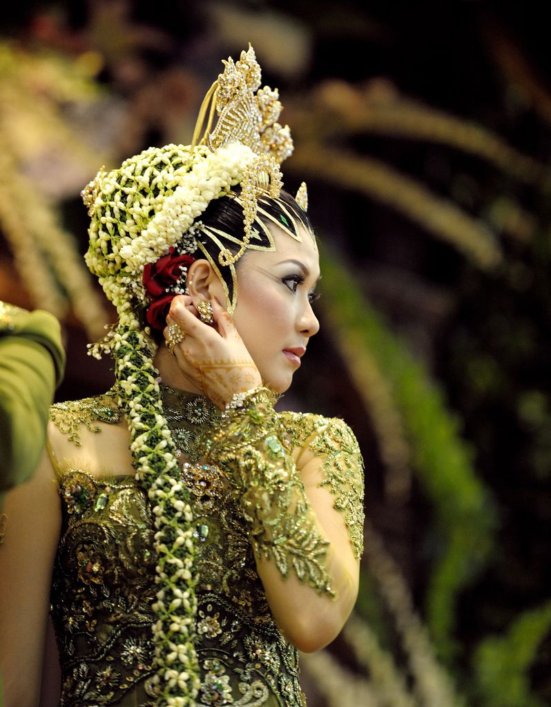 The bride by Alfonso T A woman in traditional Javanese