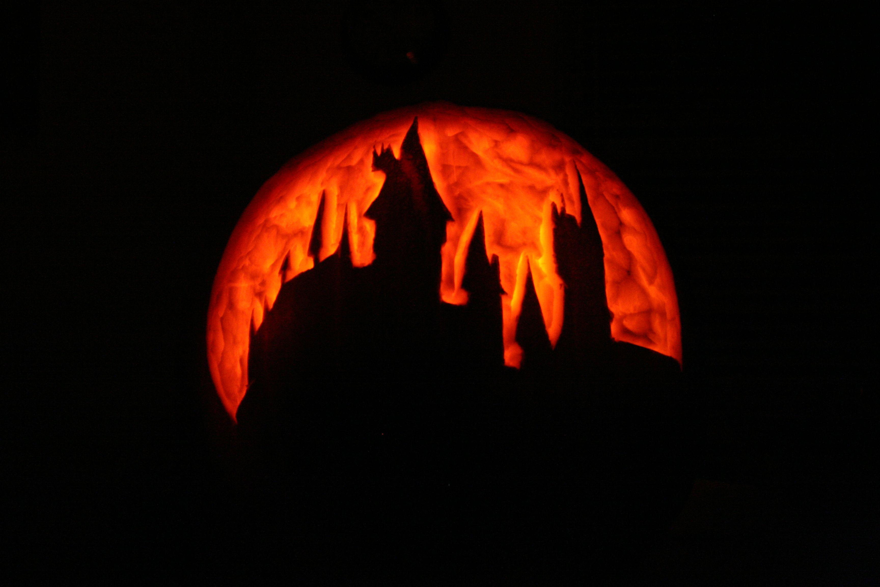 hogwarts pumpkin carving Pumpkin Ideas Pinterest