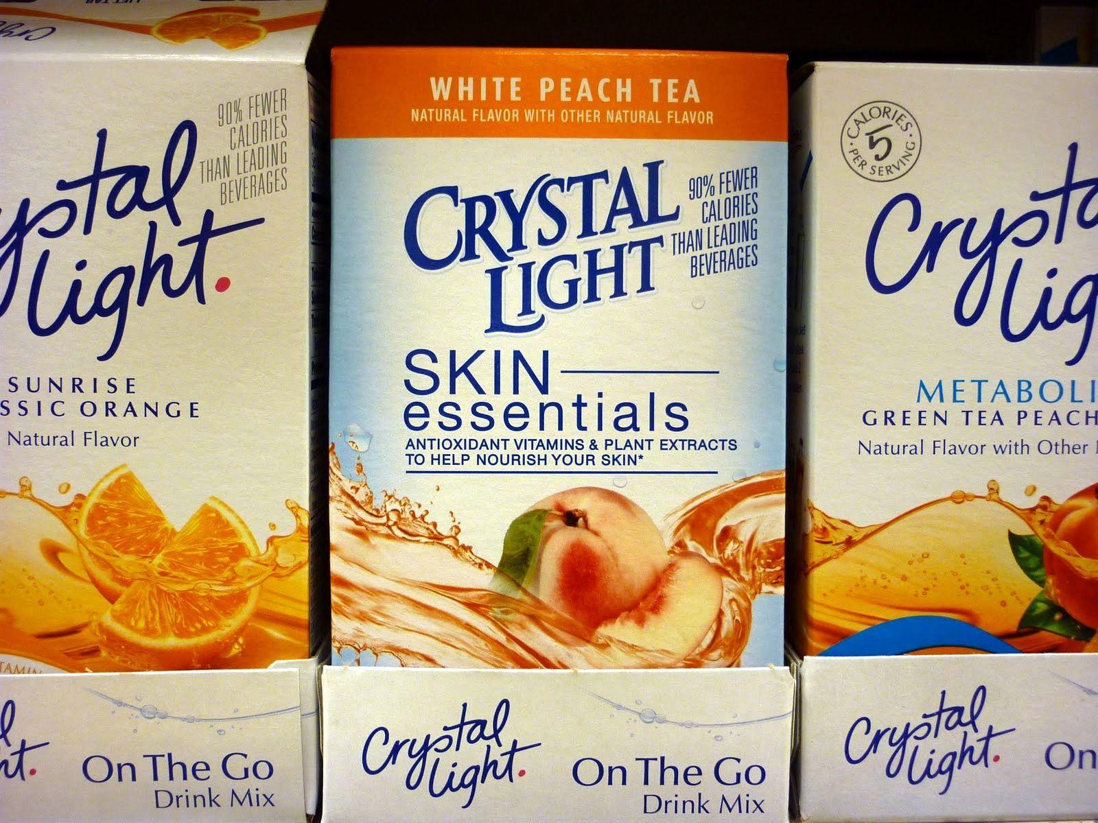 Avoid Crystal Light (Basic Ingredients) Citric Acid