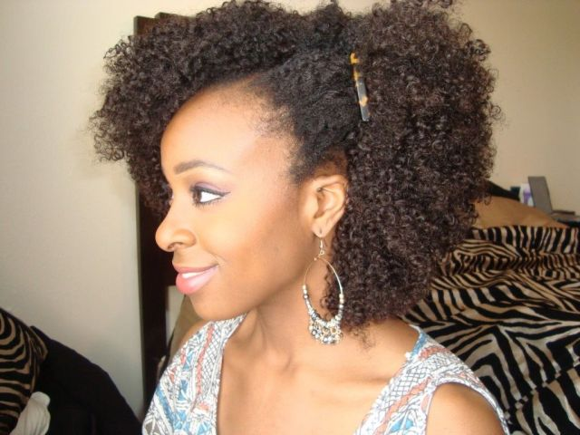 kinky curly hairstyles for afro american girls | weave hairstyles