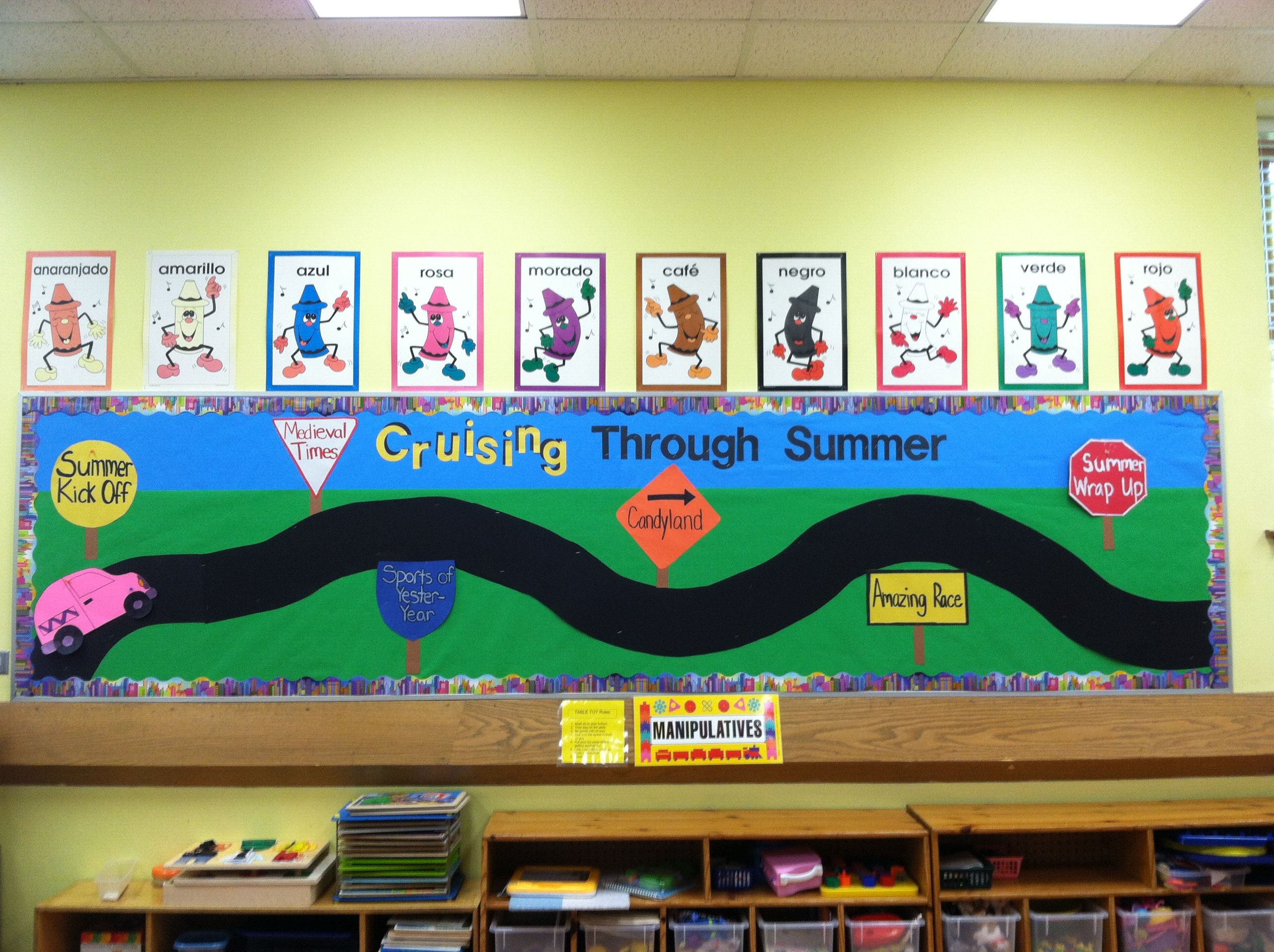Summer Bulletin Board Change To Learning To Follow Jesus
