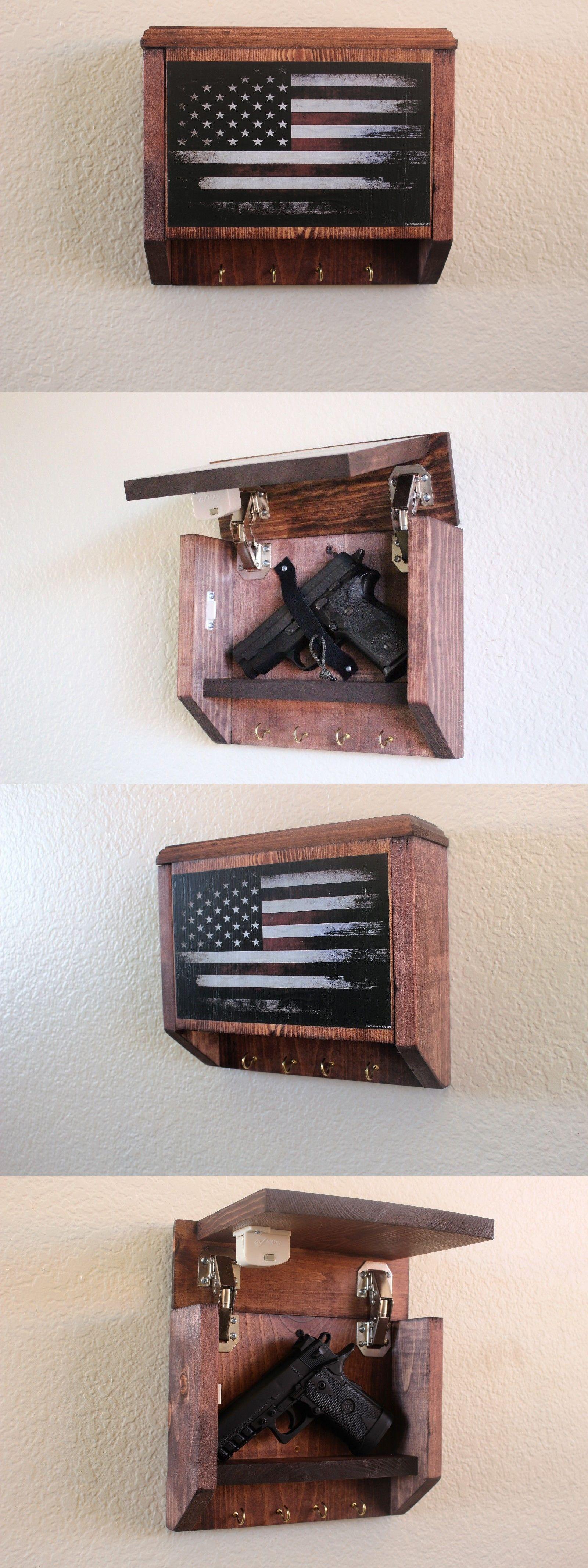 and Safes 177877 Hidden Gun Storage Key Rack