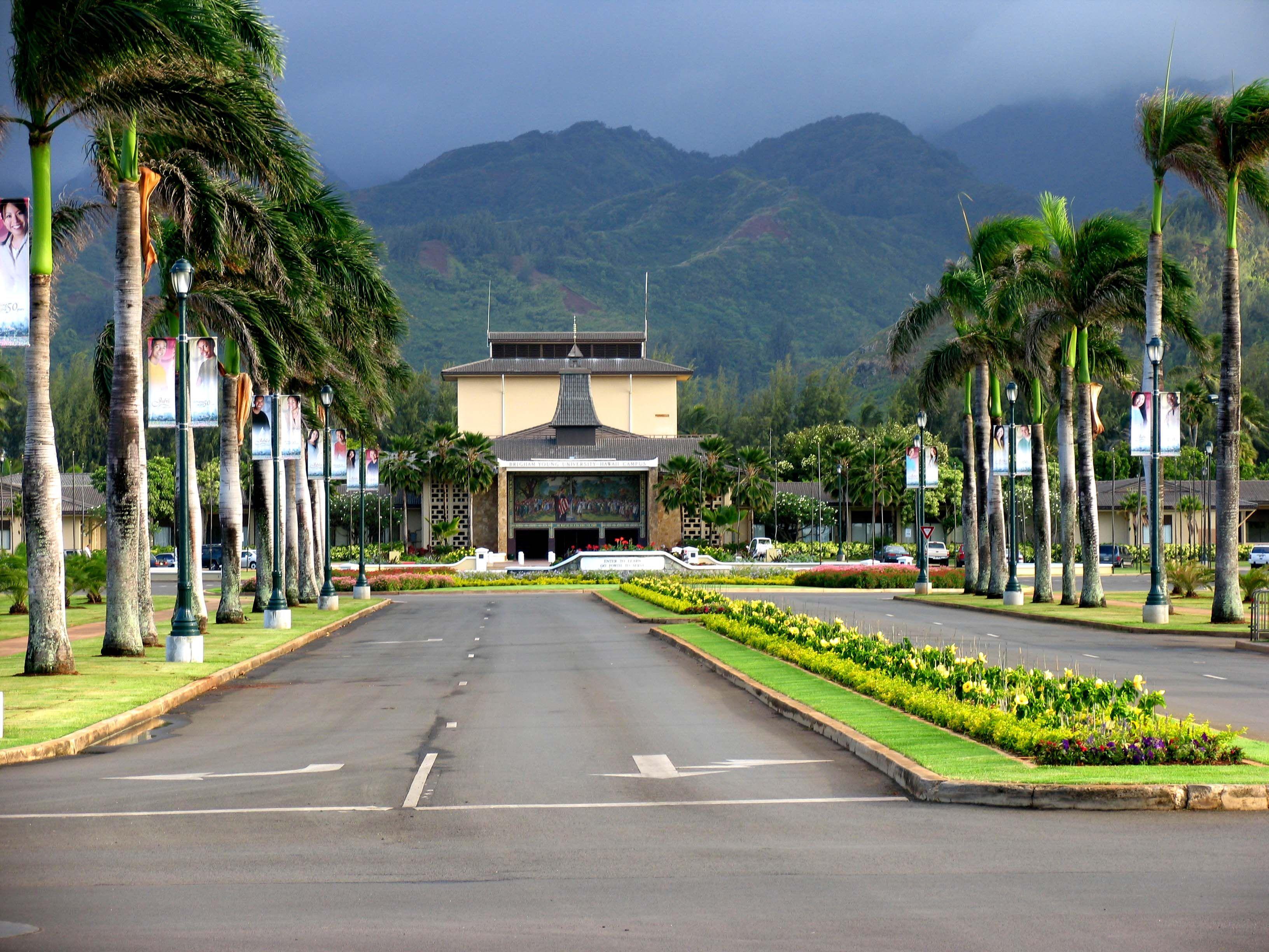 BYU Hawaii, formerly Church College of Hawaii. Google