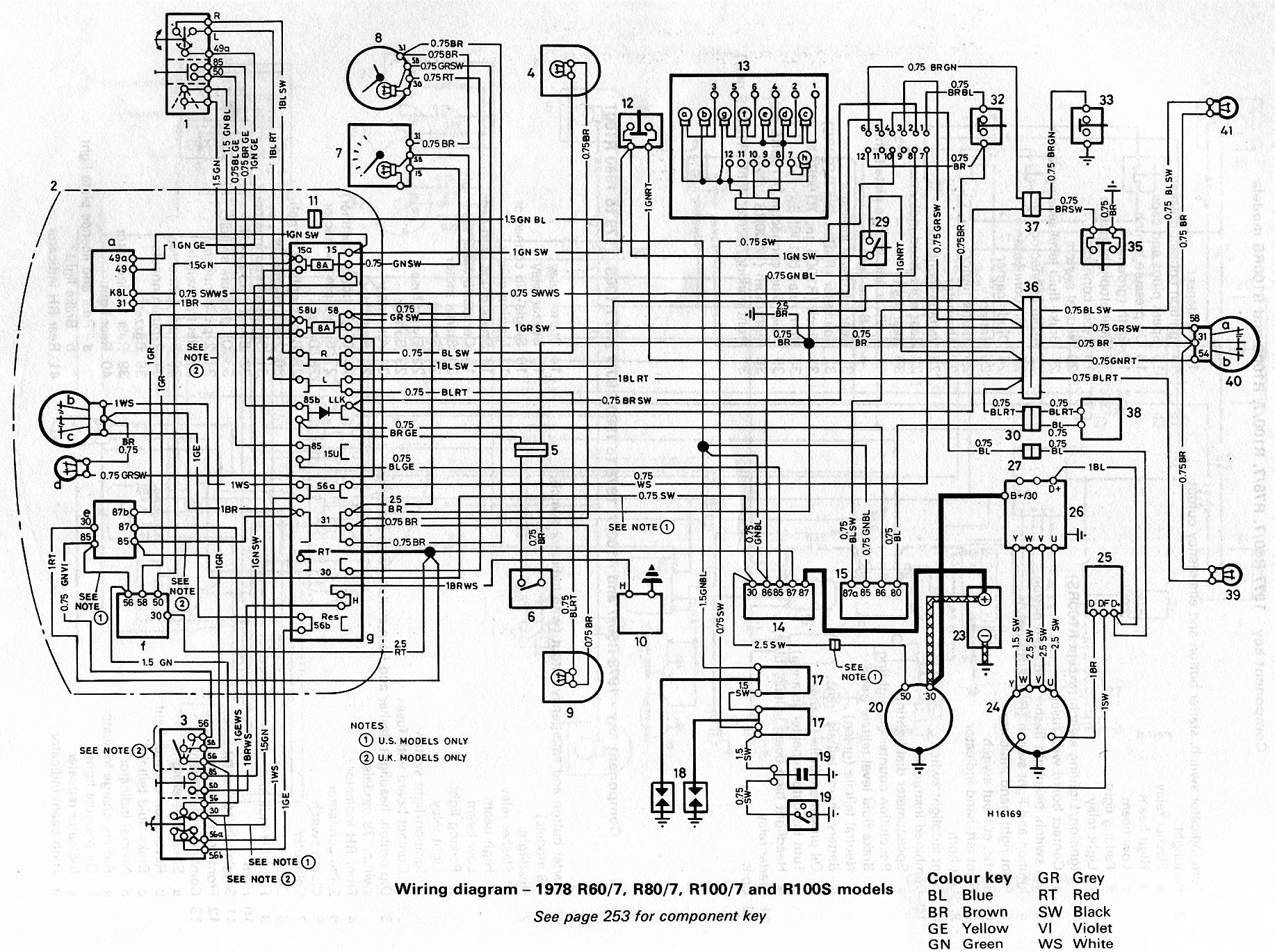 Bmw R80 7 Wiring Diagram