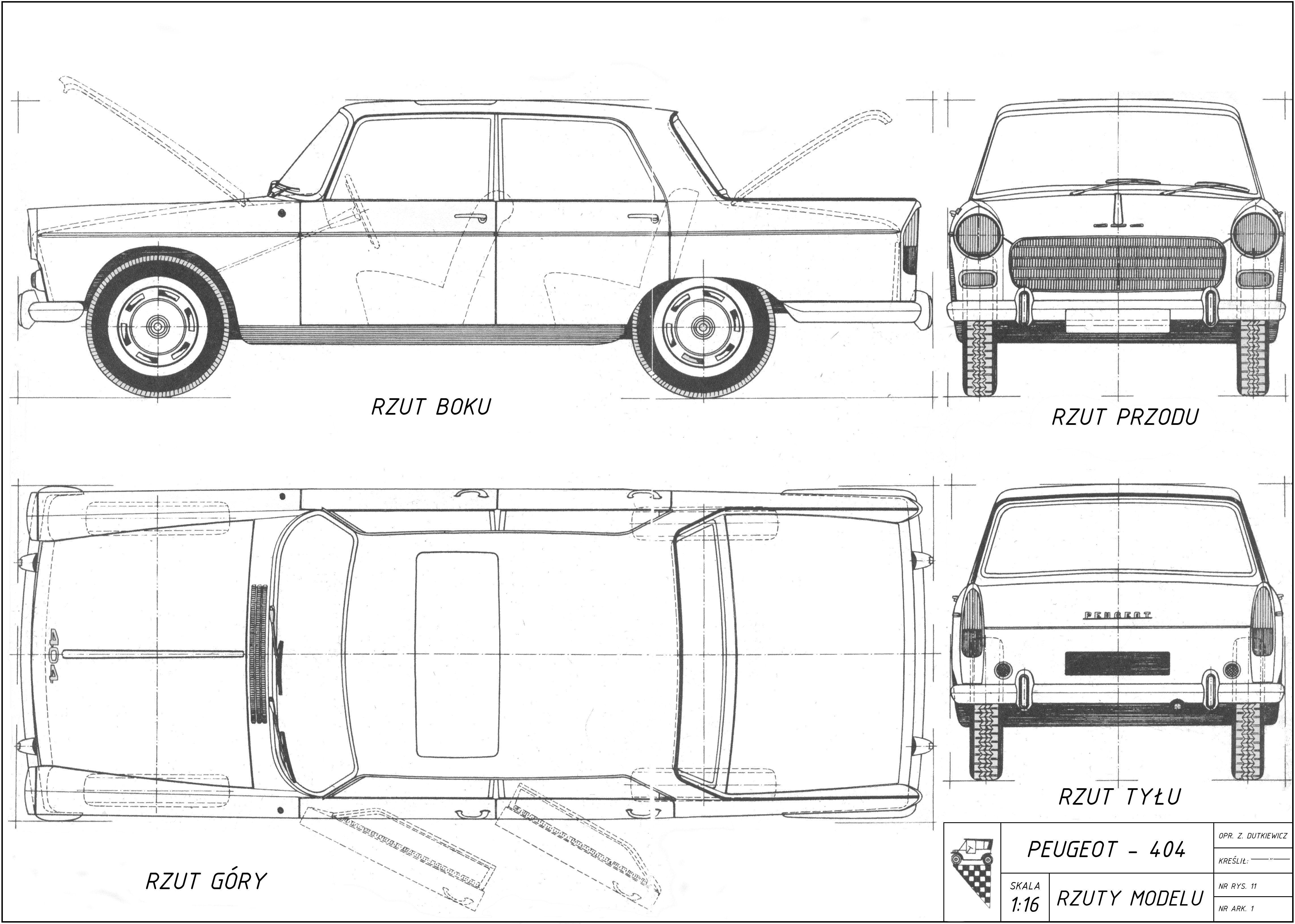 D Peugeot 404 Peugeot 404 02