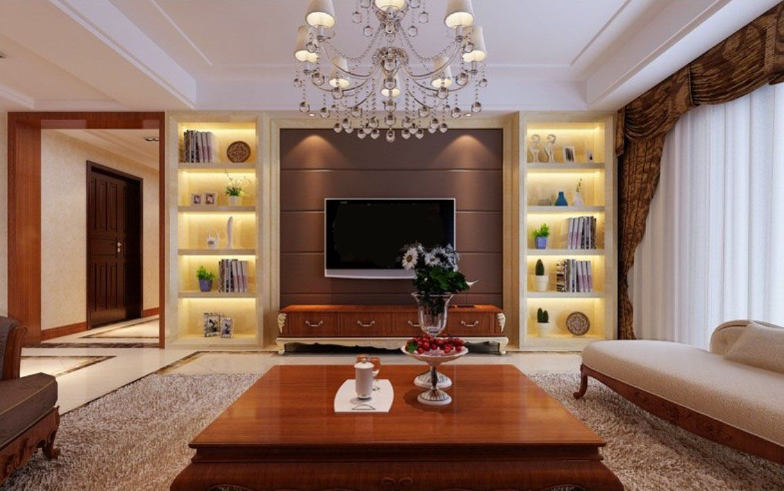 Furniture: Wonderful Wall Cabinet Design Ideas For TV