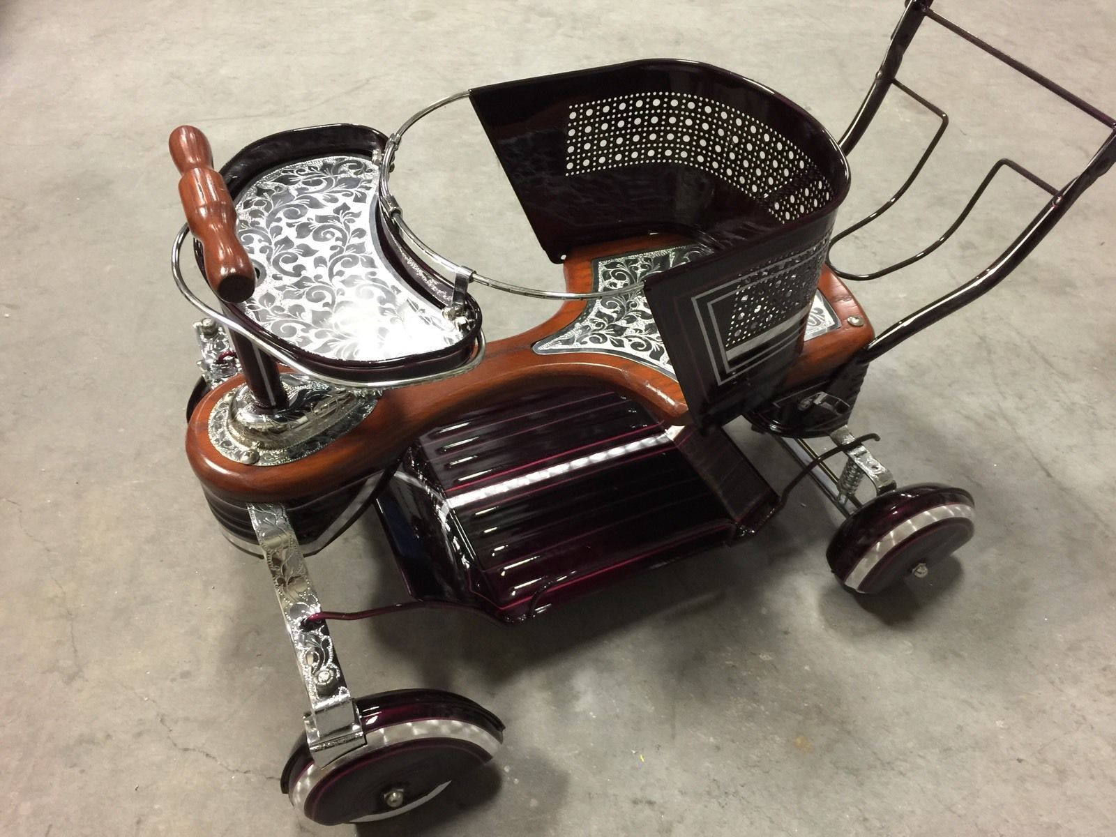 Custom Vintage 1950's Taylor Tot Baby Stroller eBay