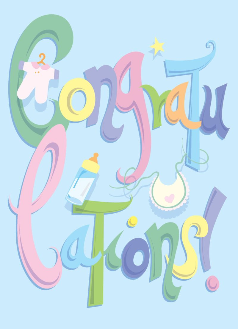 Congratulations on new baby congratulations