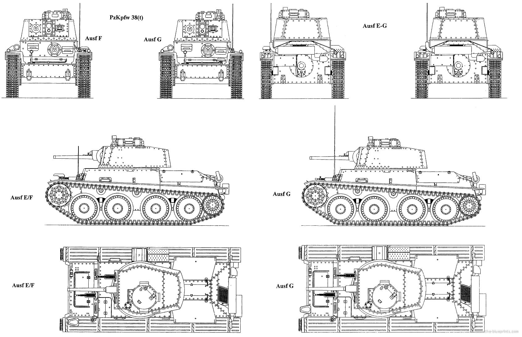 38 T Blueprints