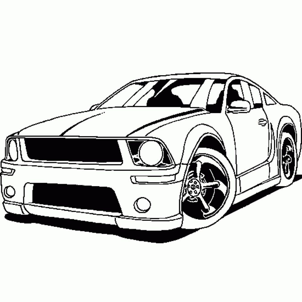 Coloring Pages Sports Car Coloring Pages Printable Kids