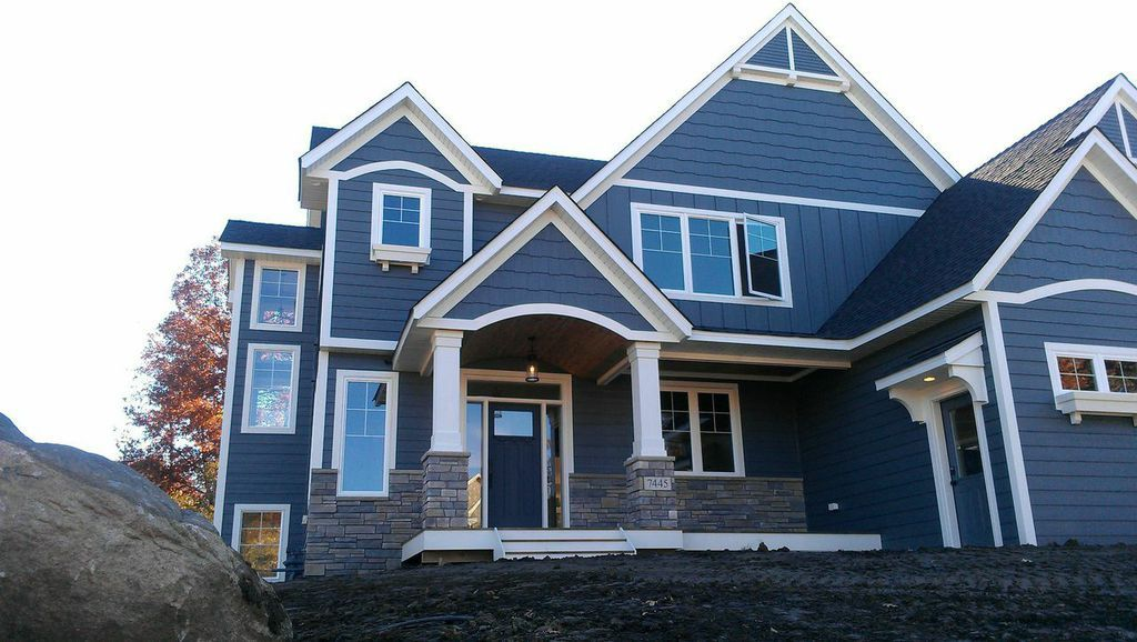 Exterior paint color by Sherwin Williams, Web Gray 7075