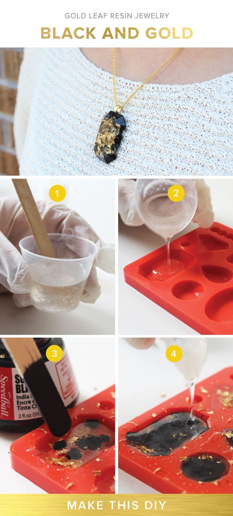 Create stunning jewelry with this DIY resin kit DIY