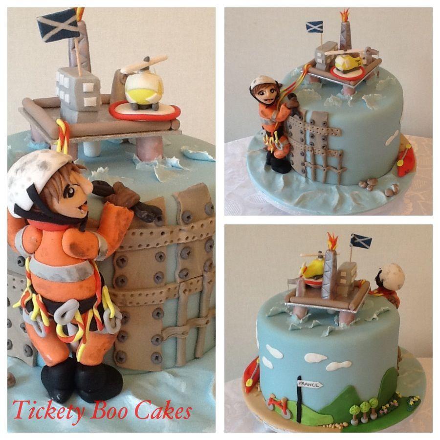 Oil Rig Worker Birthday Cake Wedding Pinterest Oil