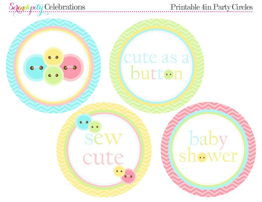 We Heart Parties Free Printable Party Decor Banners Cupcake Toppers Water Bottle Labels Cute