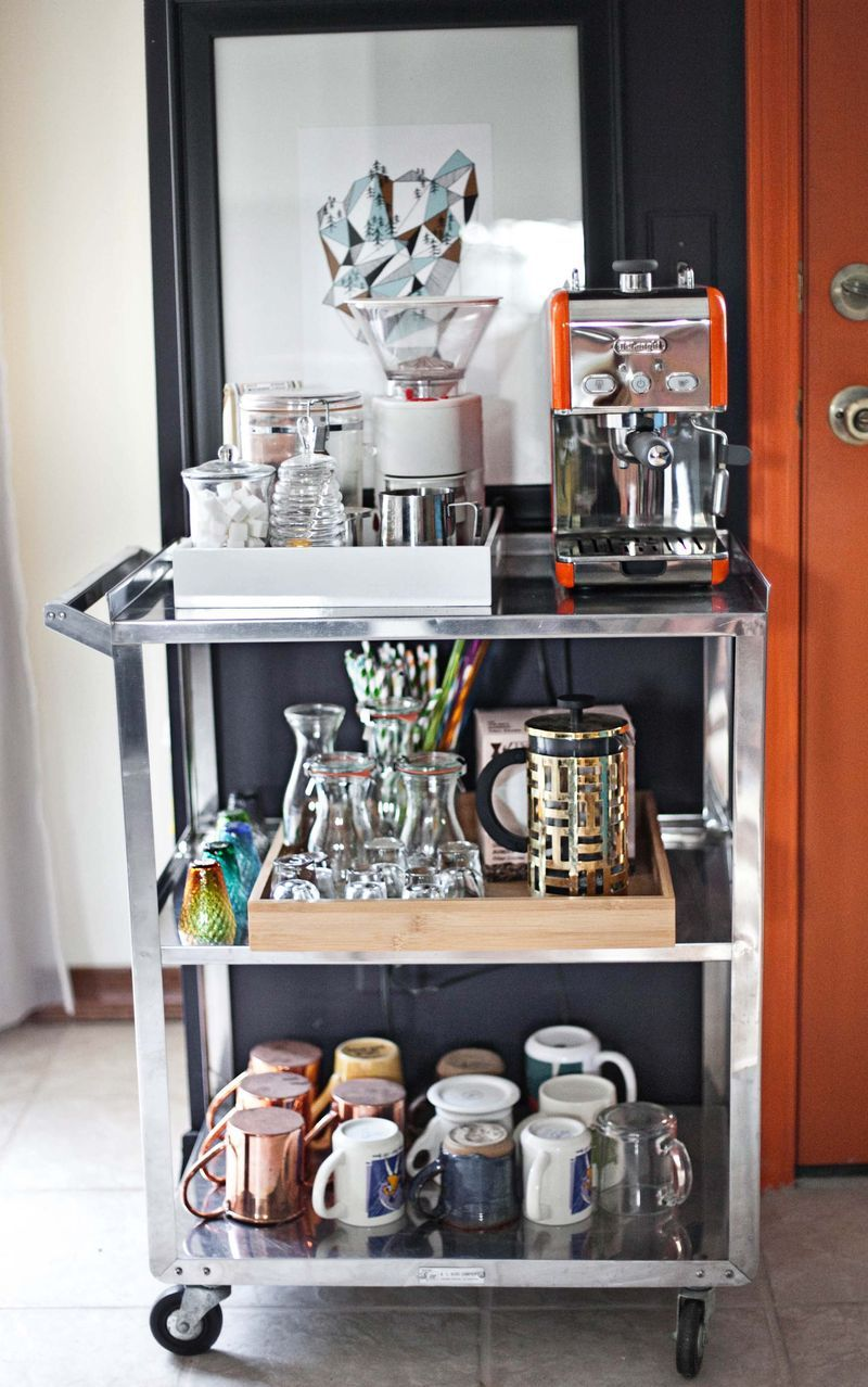 Love Your Space Challenge How to set up a tea/coffee
