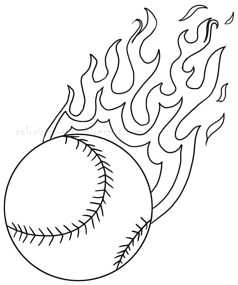 1000 images about baseball coloring pages on pinterest coloring