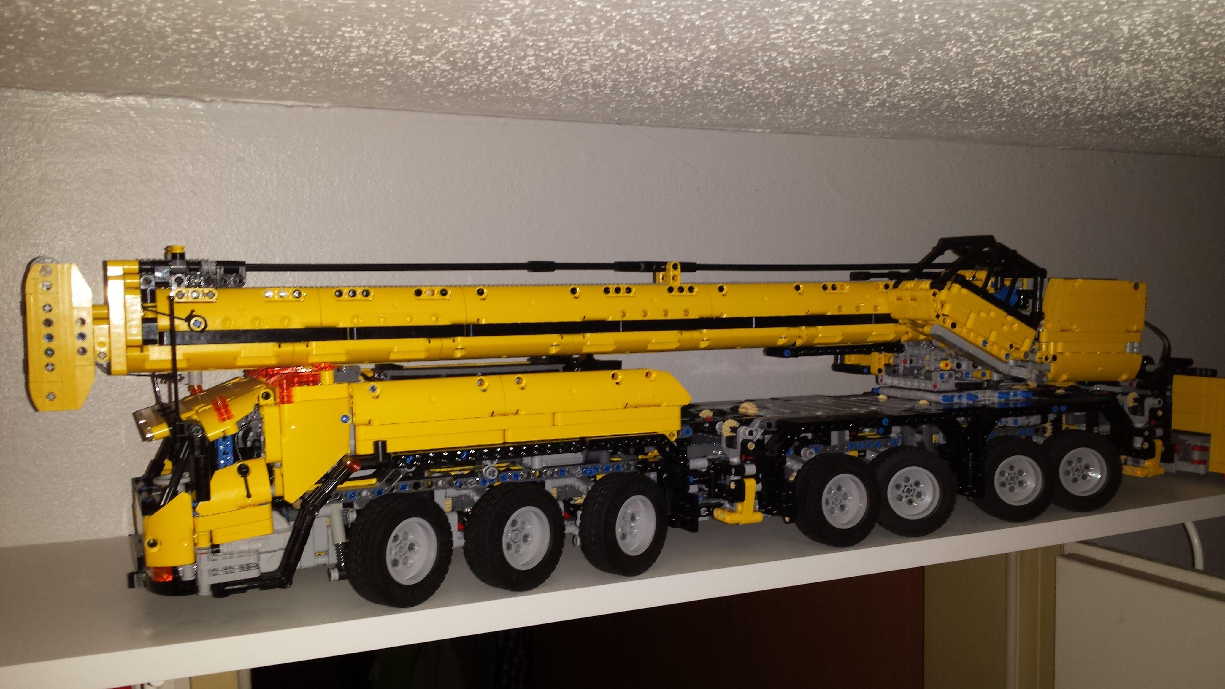 Grove GMK 7550 By Lego Technic Full RC Stephans Lego
