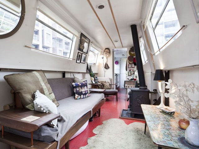 Beautiful Narrow Boat Interior Design Ideas