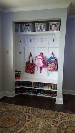 Entryway Closet Nook Mudroom Clever And Minis