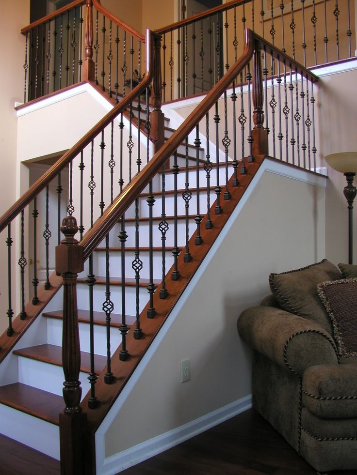 Rod Iron Stair Railing Idea Choosing Rod Iron Stair