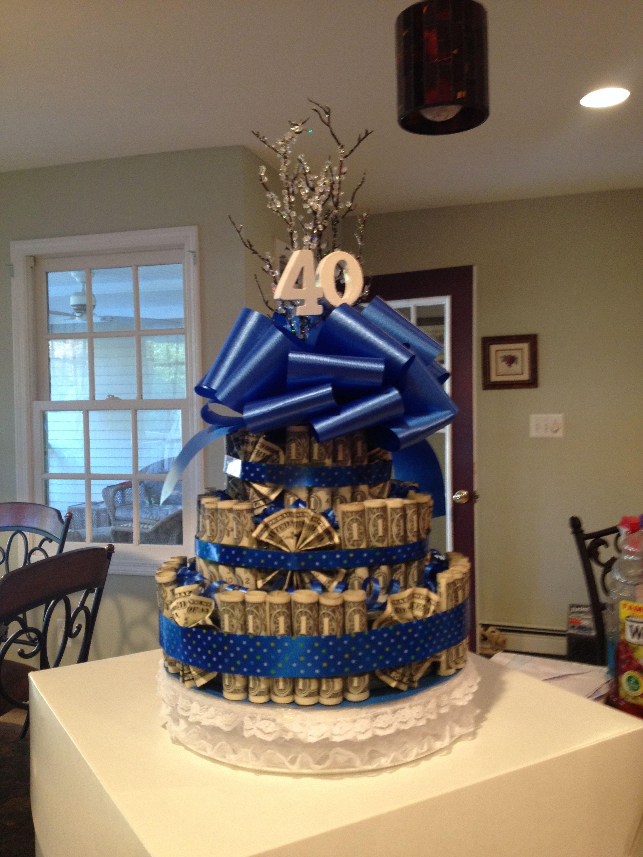 Diy Birthday Money Cake Diy Arts And Crafts