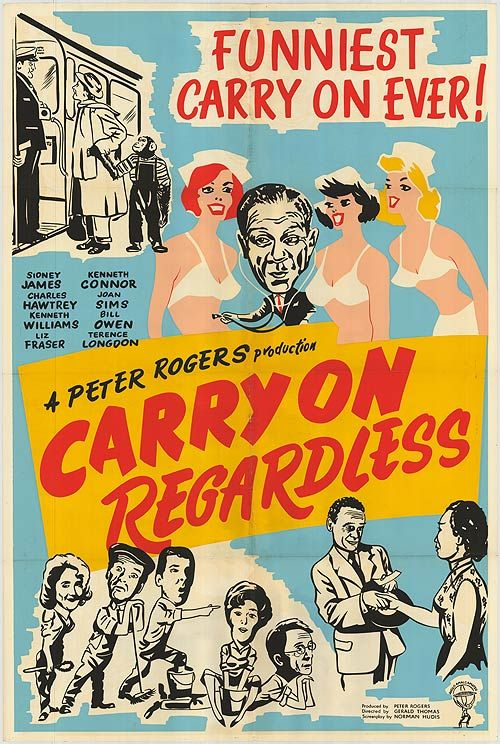 Carry On Regardless (1961) GB Sidney James, Connor