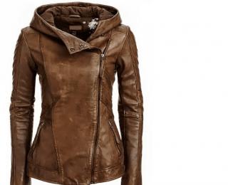 Arrow Women Brown Leather Jacket love! Fashion