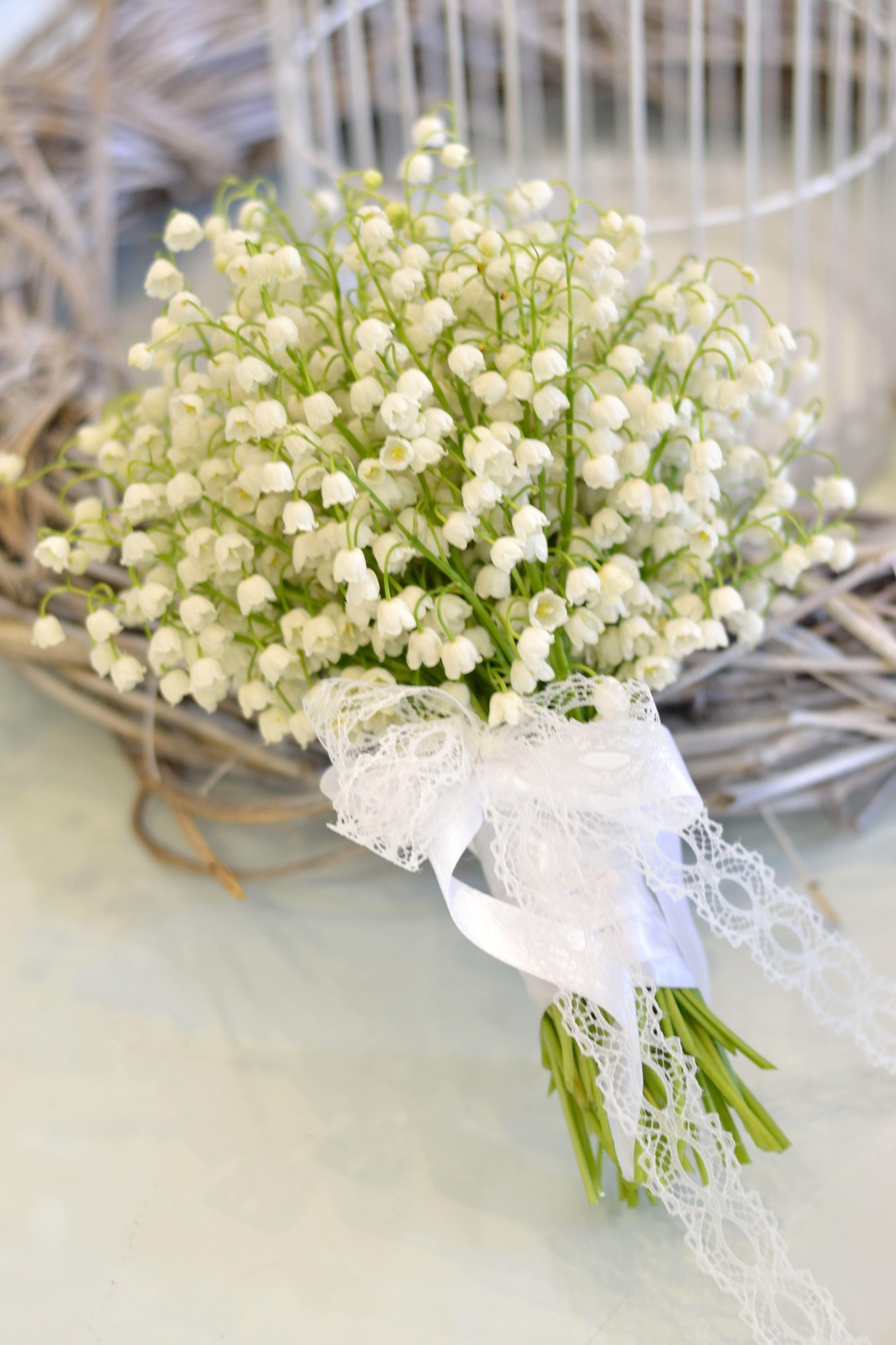 Lily of the Valley wedding bouquet / Vjenčani buket od