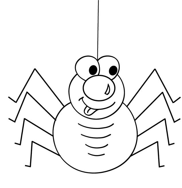 1000 images about cute spider on pinterest coloring pages