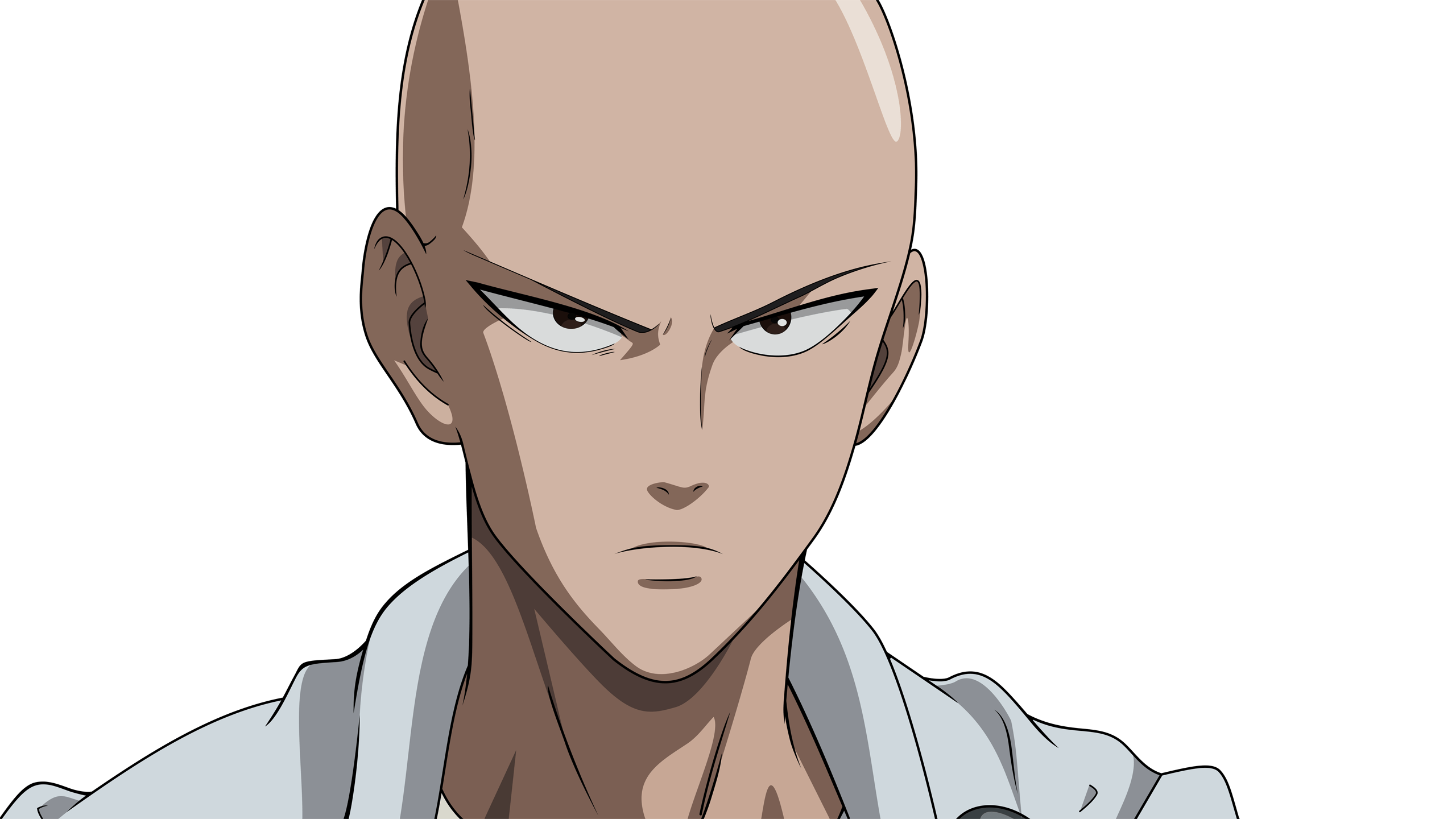 Saitama Cool Face One Punch Man HD Wallpaper Stuff to