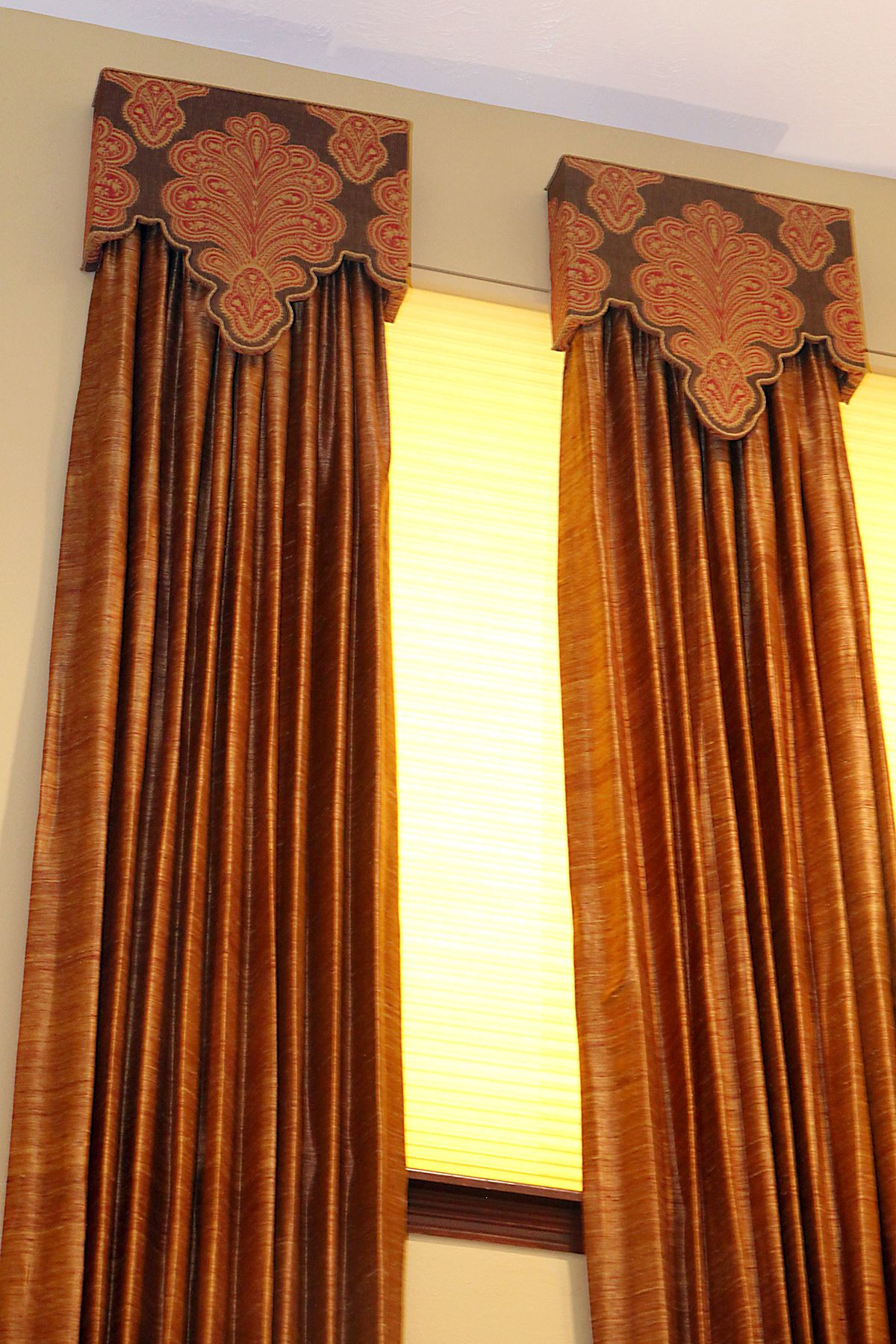 A Closer Look At These Custom Cornices Which Are Uniquely
