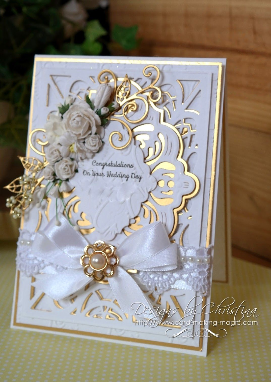 Wedding Card by Christina Griffiths Cards I Love