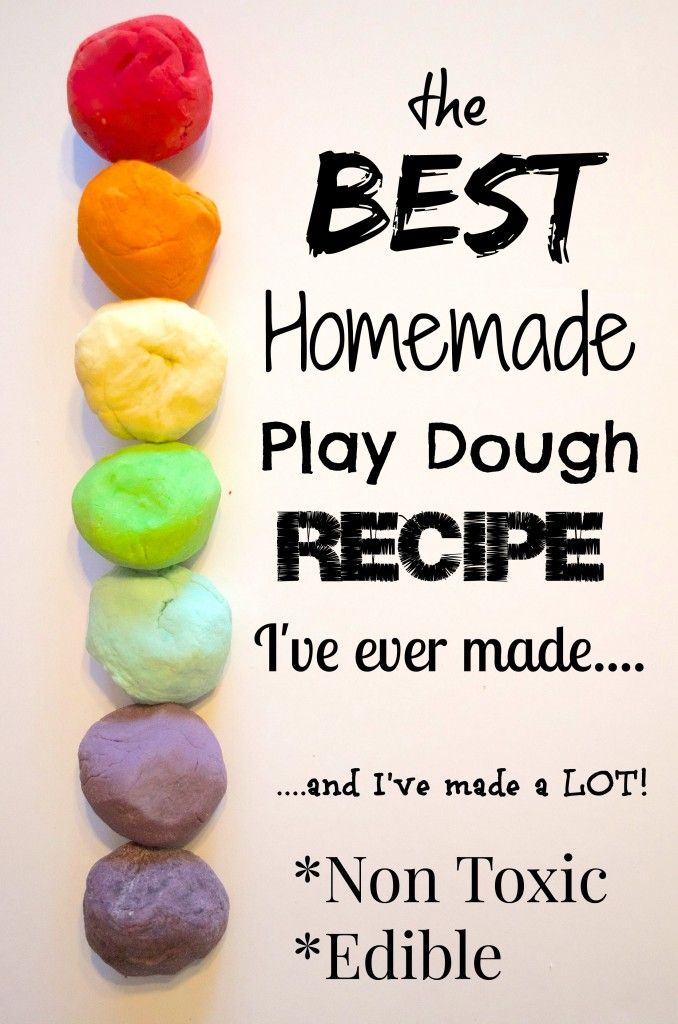 Soft, smooth & delicious smelling DIY Homemade Play Dough Recipe – non toxic and edible – toddler friendly. Perfect sensory play