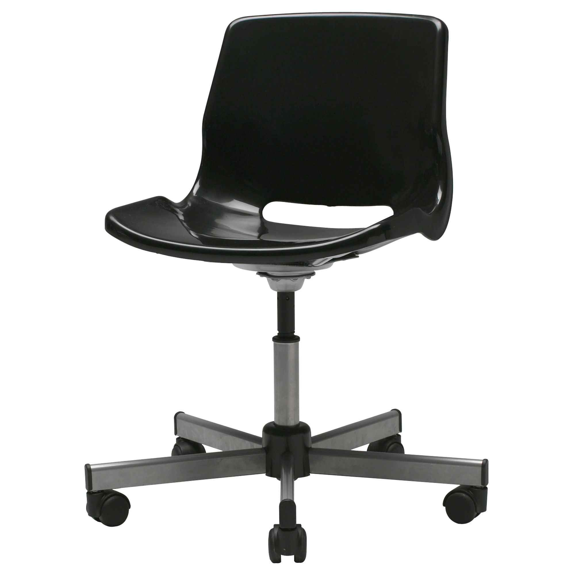 SNILLE Swivel chair black IKEA craft room I want