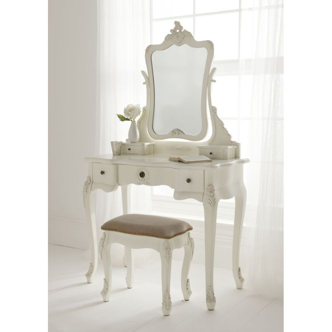 Antique French Dressing Table Set Is A Fantastic Addition To Our Bedroom Furniture