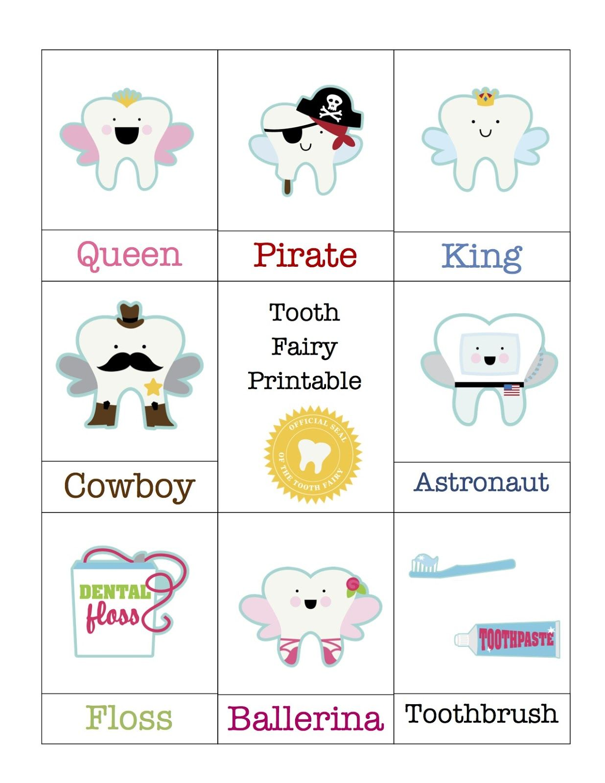 Tooth Care Printable 1 20 Pages 20