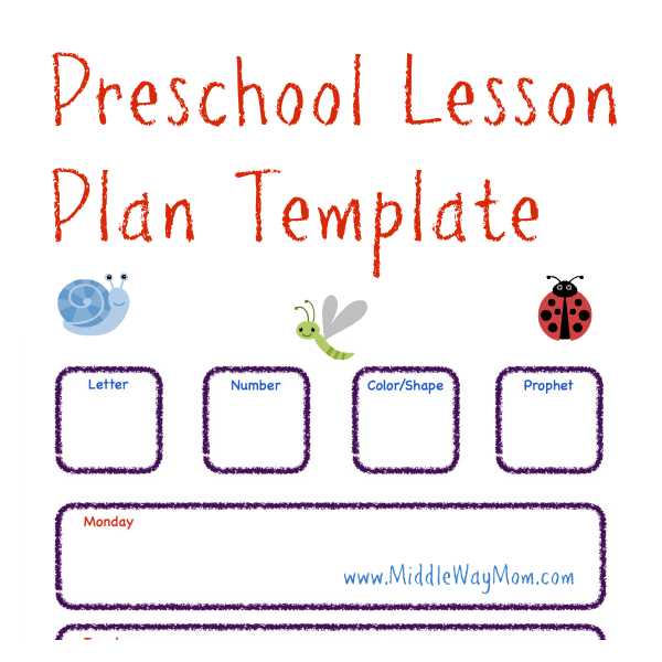 Toddler Lesson Plan Template. toddler lesson plan template 10 free ...