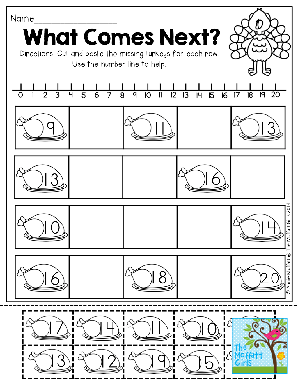 What Comes Next Working With Teen Numbers Tons Of Interactive And Fun Printables