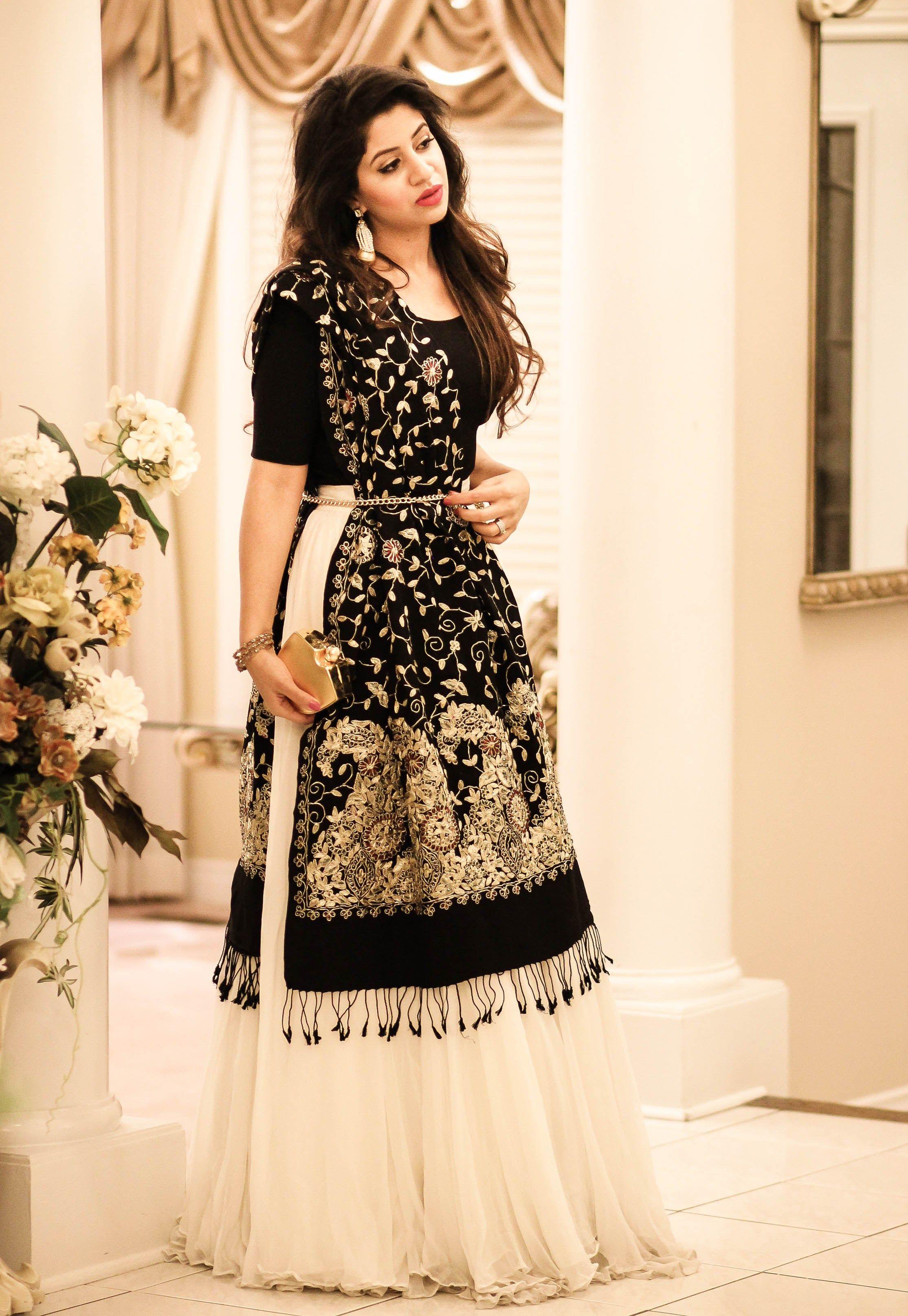 I am loving the trending fashion of lehngas/flowy skirts