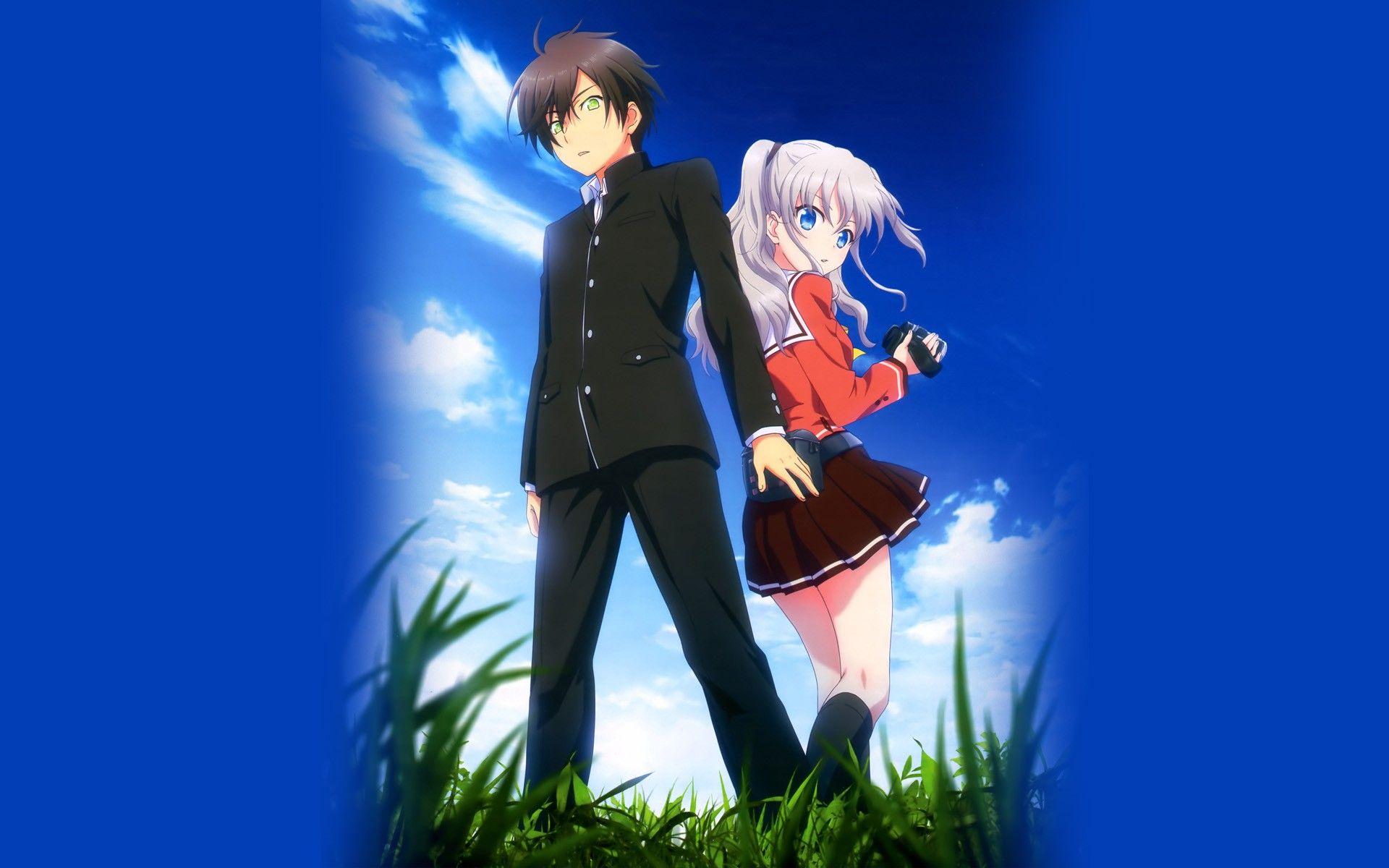 romantic anime couple anime paradise wallpaper 1920×1080 anime