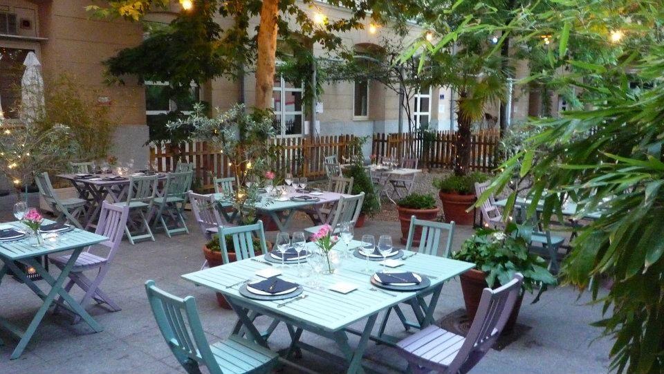 mejores terrazas Madrid - Café Bistrot
