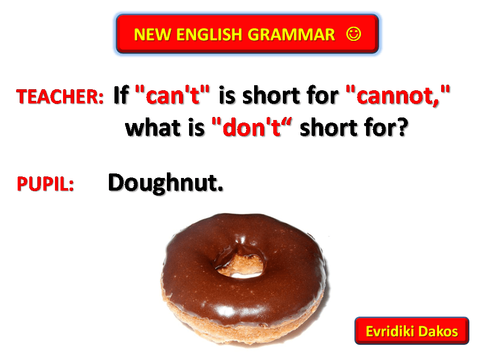 English grammar joke English Jokes Pinterest Grammar