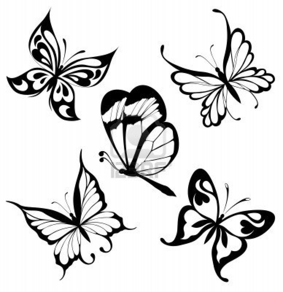 Pictures Butterfly Tattoos