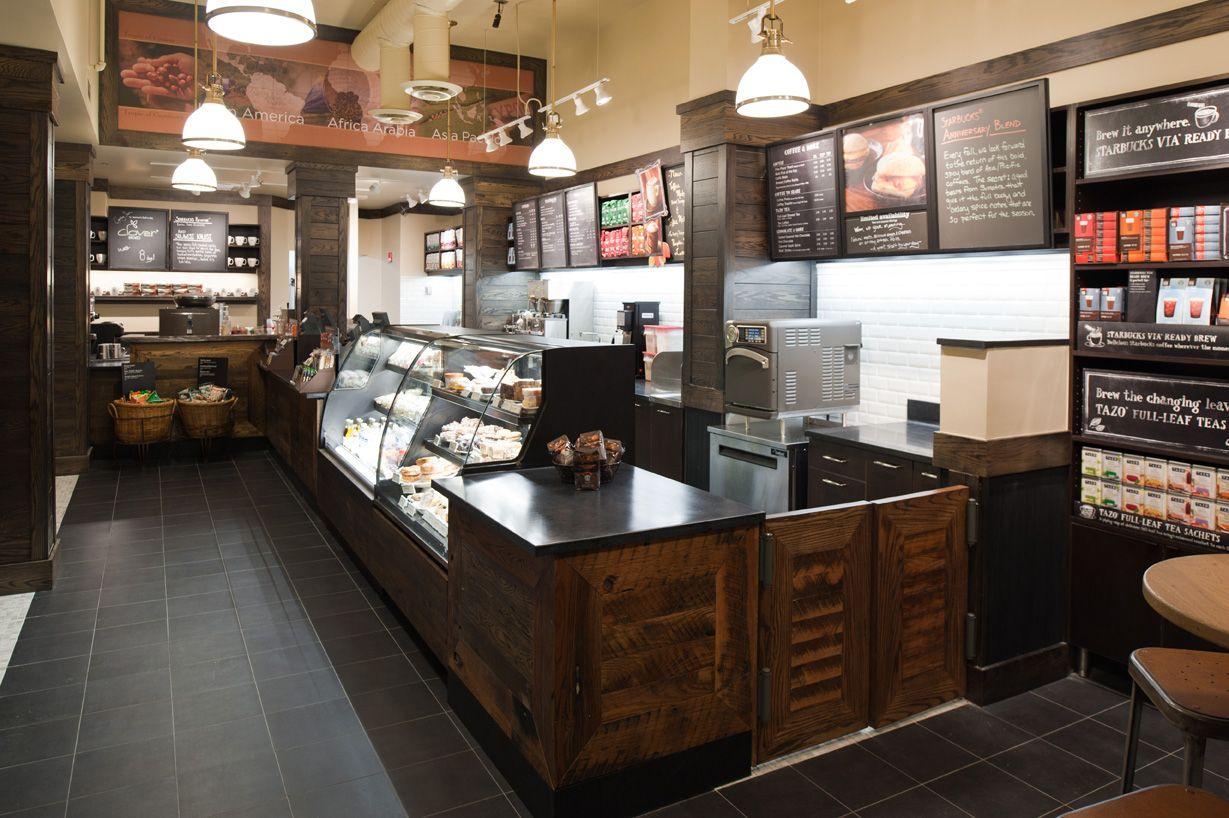 Historic Pendant Lighting in Capitol Hill Starbucks