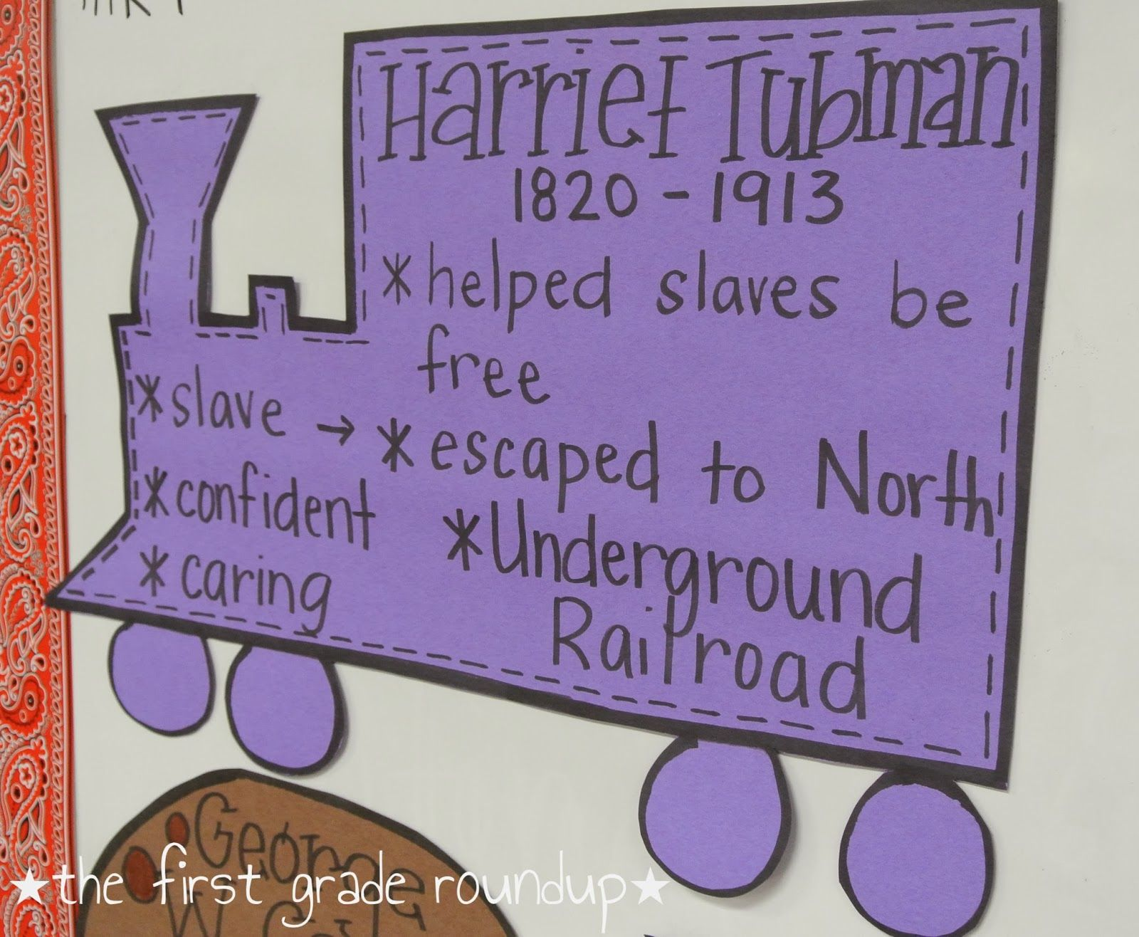 Black History Month Harriet Tubman Thefirstgraderoundupspot
